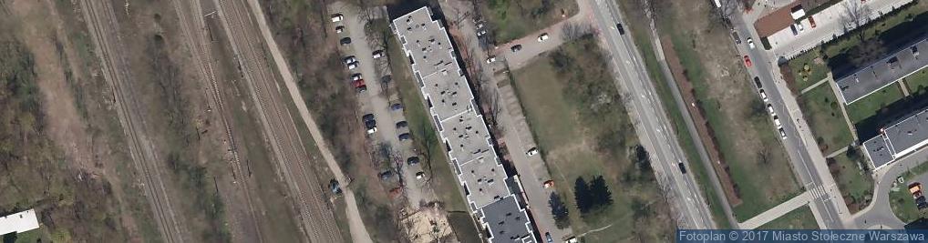 Zdjęcie satelitarne Marywilska 65