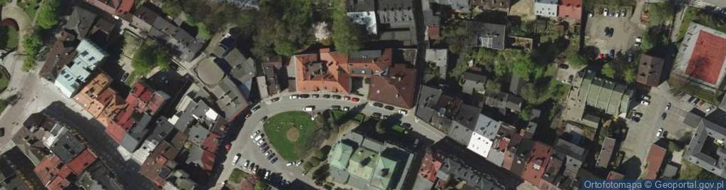 Zdjęcie satelitarne Mennicza 40