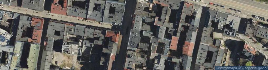Zdjęcie satelitarne Mielęckiego Andrzeja ul.