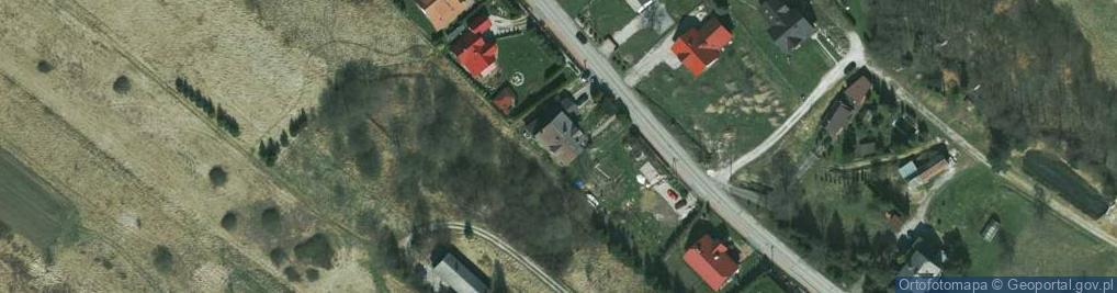 Zdjęcie satelitarne Miękińska 36b
