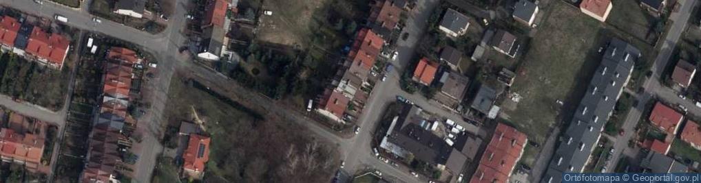 Zdjęcie satelitarne Migdałowa 19