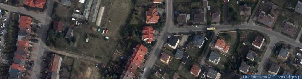 Zdjęcie satelitarne Migdałowa 53