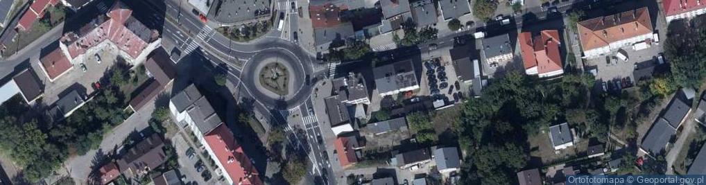 Zdjęcie satelitarne Mławska 2