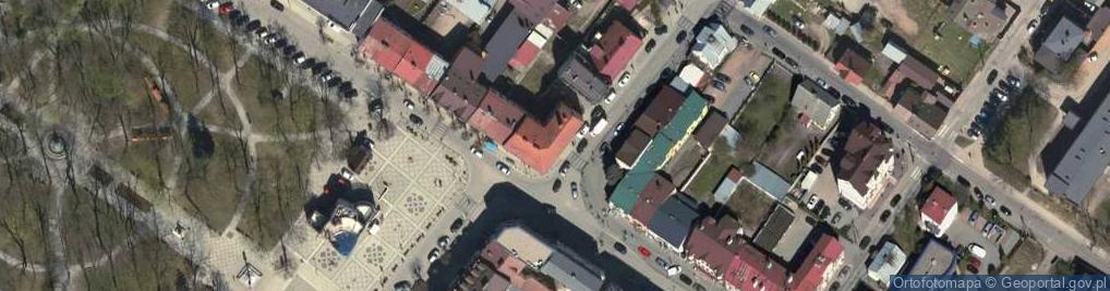 Zdjęcie satelitarne Mostowa 1