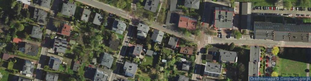 Zdjęcie satelitarne Morwowa 12