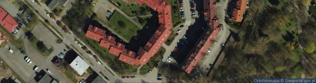 Zdjęcie satelitarne Moniuszki Stanisława 7f
