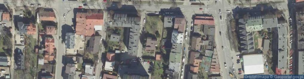 Zdjęcie satelitarne Mościckiego Ignacego 46A