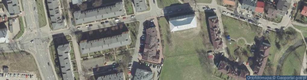 Zdjęcie satelitarne Mostowa 4