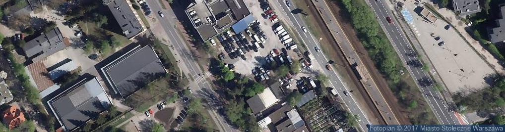 Zdjęcie satelitarne Mrówcza ul.