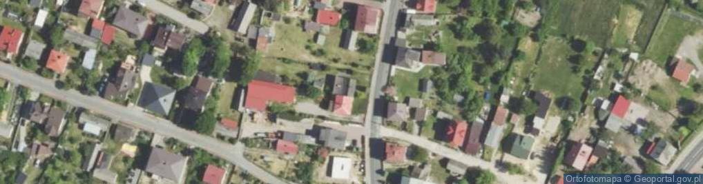 Zdjęcie satelitarne Mstowska ul.