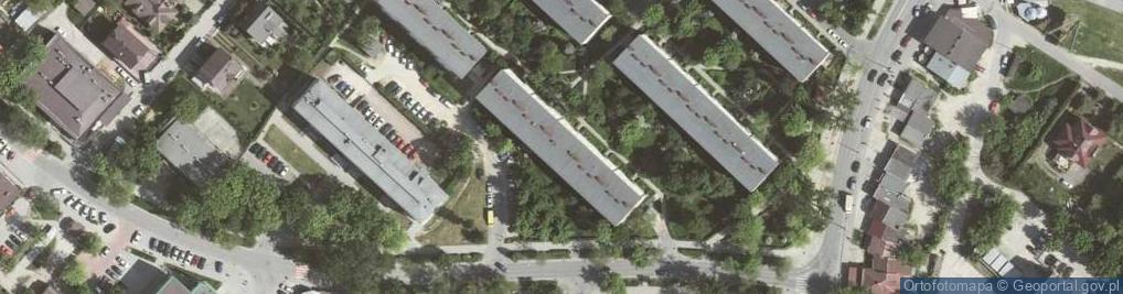 Zdjęcie satelitarne Na Kozłówce ul.