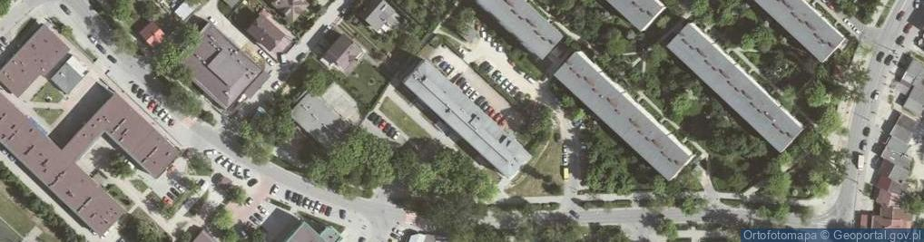 Zdjęcie satelitarne Na Kozłówce 29