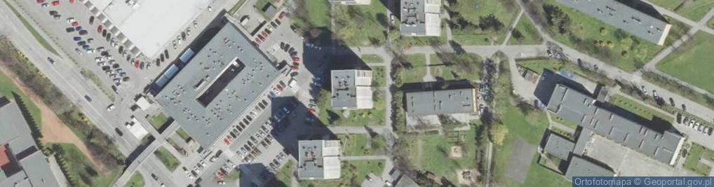 Zdjęcie satelitarne Nawojowska 11
