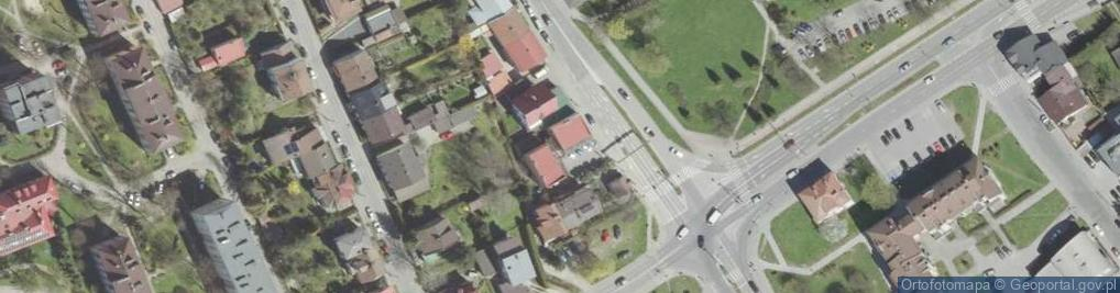 Zdjęcie satelitarne Nawojowska 20
