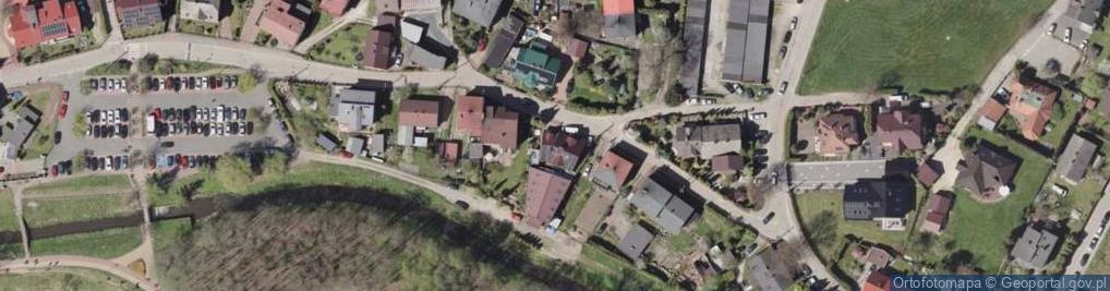 Zdjęcie satelitarne Nad Jeziorem ul.