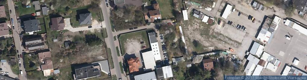 Zdjęcie satelitarne Nadziei ul.
