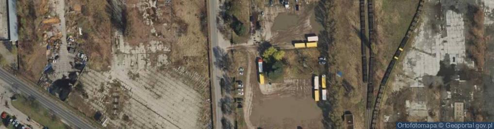 Zdjęcie satelitarne Nowosolska ul.