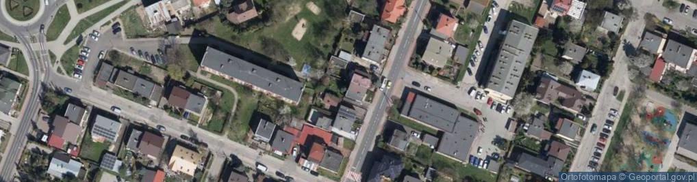 Zdjęcie satelitarne Obrońców Płocka 1920 r. 19A