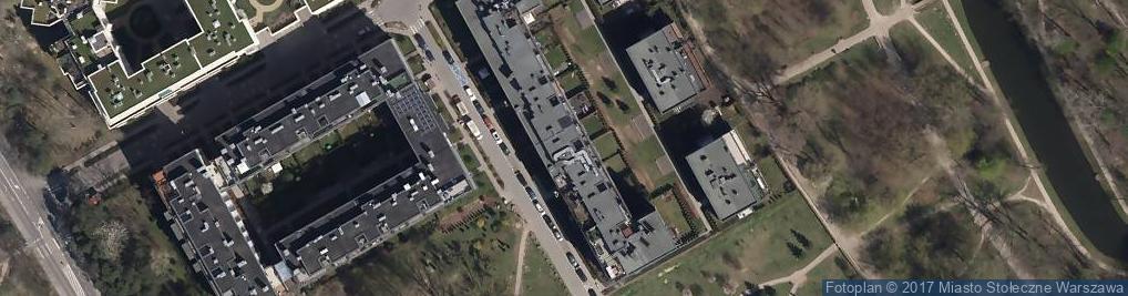 Zdjęcie satelitarne Obrońców Tobruku ul.