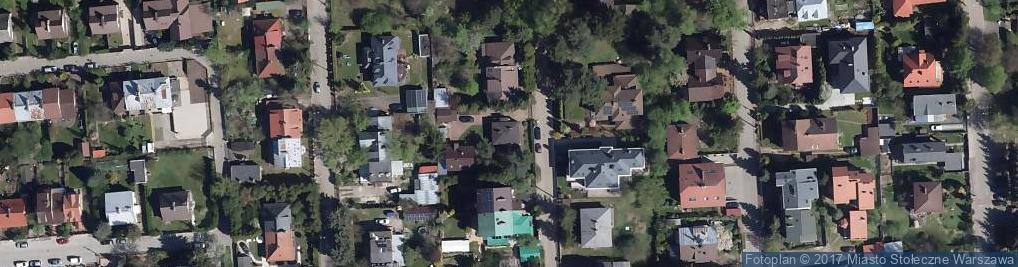Zdjęcie satelitarne Obiegowa 5