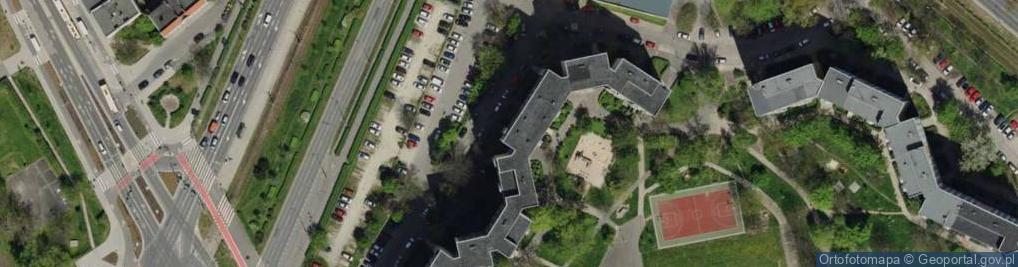 Zdjęcie satelitarne Obornicka 41