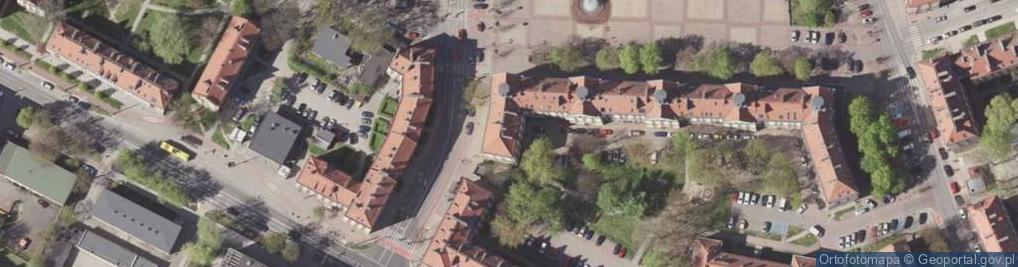 Zdjęcie satelitarne Ojca Innocentego Bocheńskiego ul.