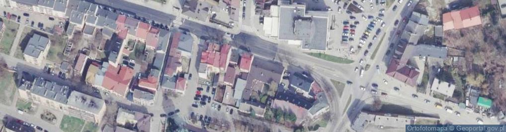 Zdjęcie satelitarne Okólna 14