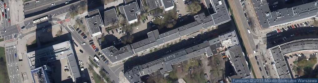 Zdjęcie satelitarne Oleandrów ul.
