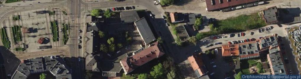 Zdjęcie satelitarne Ołbińska ul.