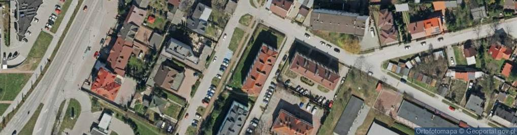 Zdjęcie satelitarne Opielińskiej Marii ul.