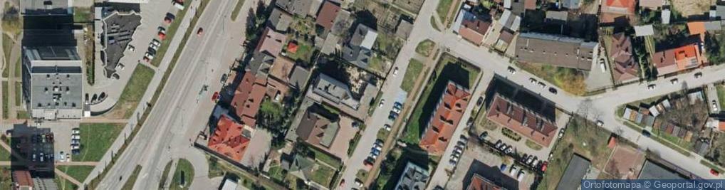 Zdjęcie satelitarne Opielińskiej Marii 16