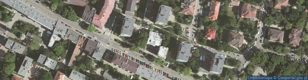 Zdjęcie satelitarne Osiedle Kazimierza Wielkiego 19