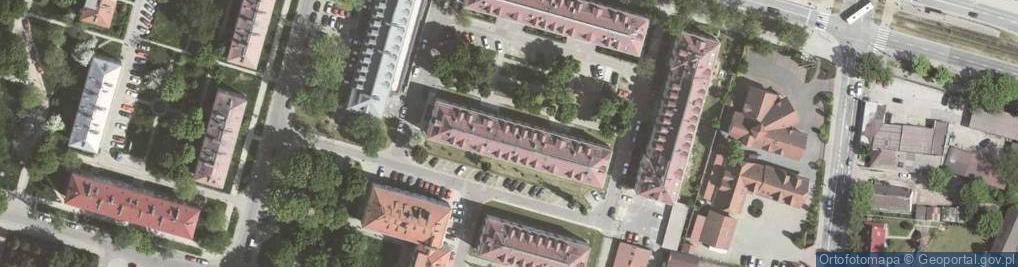 Zdjęcie satelitarne Osiedle Młodości 4