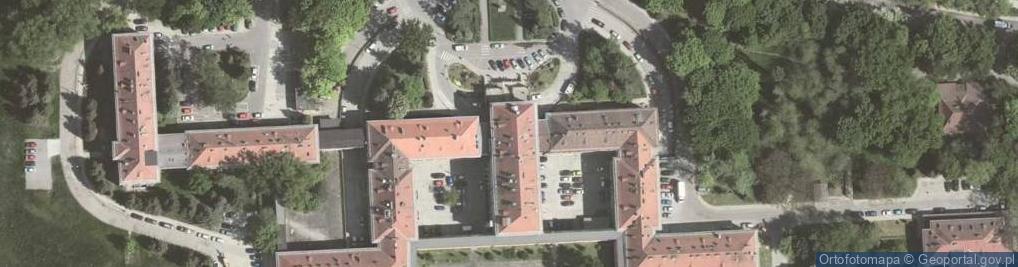 Zdjęcie satelitarne Osiedle na Skarpie 66a