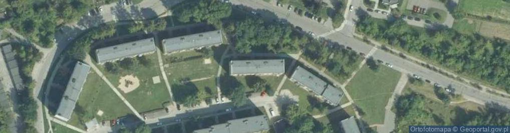 Zdjęcie satelitarne Osiedle Sikorskiego Władysława, gen. os.