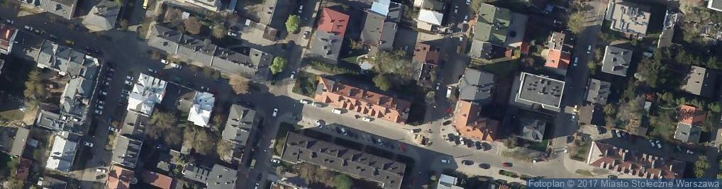 Zdjęcie satelitarne Osowska 18