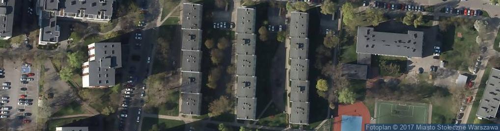 Zdjęcie satelitarne Osowska 89