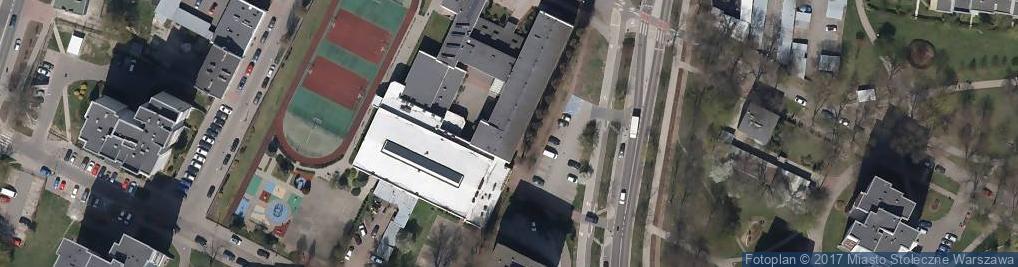 Zdjęcie satelitarne Ossowskiego Michała 25