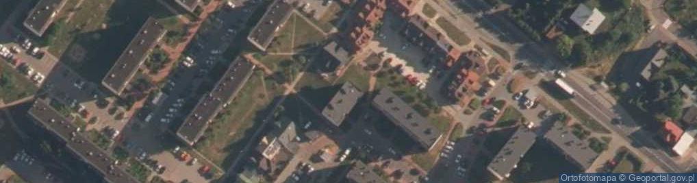 Zdjęcie satelitarne Osiedle Stare Sady os.