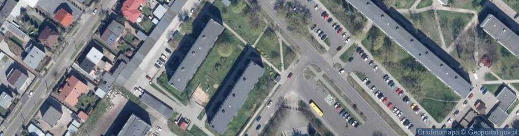 Zdjęcie satelitarne Ostrowska 6a
