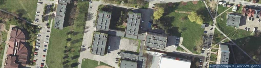 Zdjęcie satelitarne Osiedle Sikorskiego Władysława, gen. 52