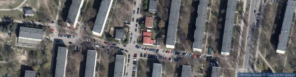 Zdjęcie satelitarne Parcelacyjna ul.
