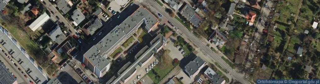 Zdjęcie satelitarne Palacza Macieja 81