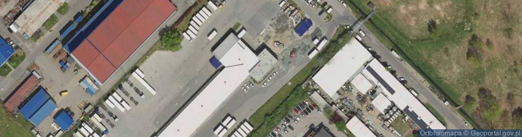 Zdjęcie satelitarne Paprotna 10