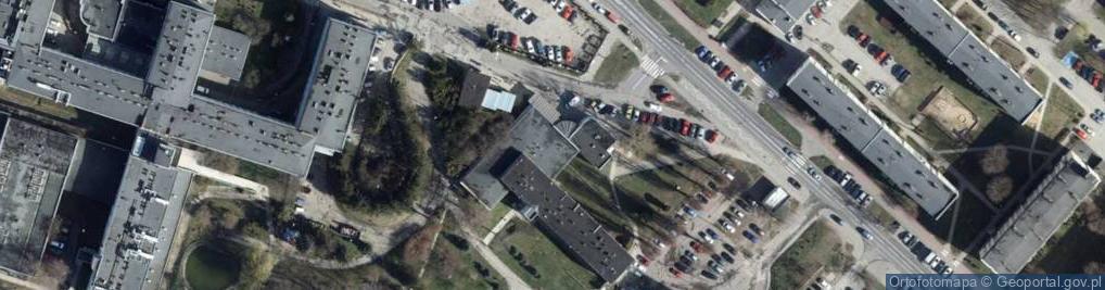 Zdjęcie satelitarne Parzęczewska ul.