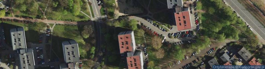 Zdjęcie satelitarne Piastów ul.