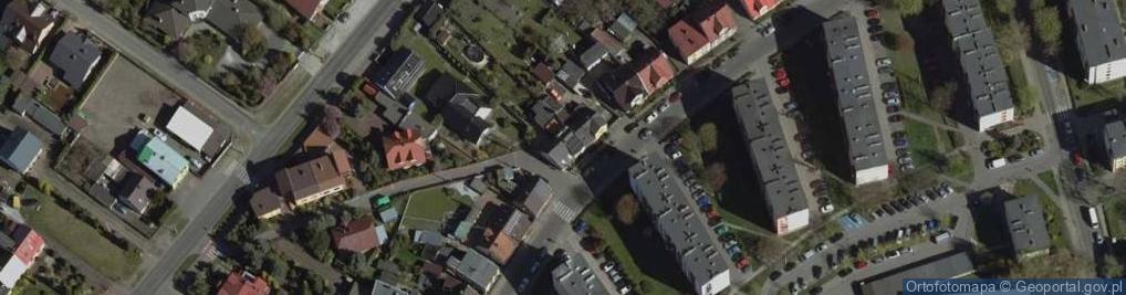 Zdjęcie satelitarne Piaskowa 18