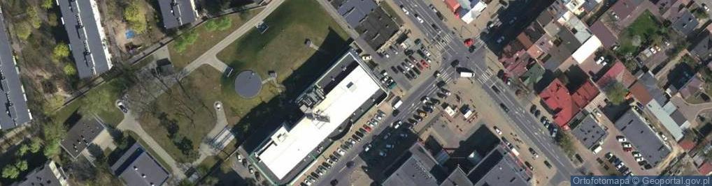 Zdjęcie satelitarne Piłsudskiego Józefa, marsz. 20