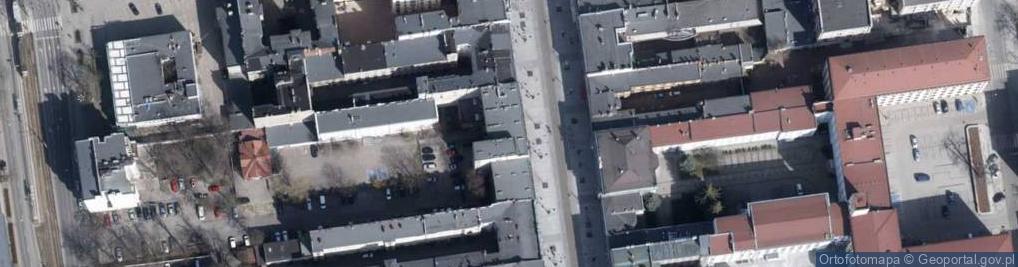 Zdjęcie satelitarne Piotrkowska 103