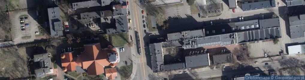 Zdjęcie satelitarne Piotrkowska 276
